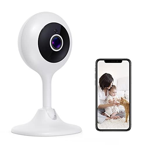 Baby monitor video, telecamera di sicurezza domestica 1080P FHD 2.4G WiFi baby monitor baby monitor a lungo raggio con movimento audio bidirezionale e visione notturna con rilevamento del rumore