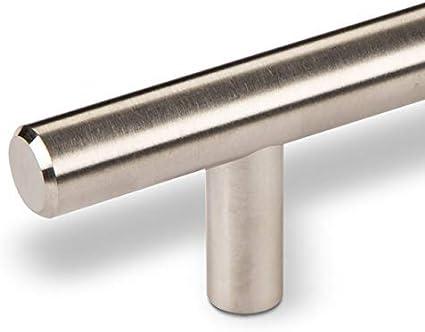 SO-TECH/® Stangengriff mit /Ø 12 mm Edelstahlrohr//BA 96 mm M/öbelgriff Schrankgriff