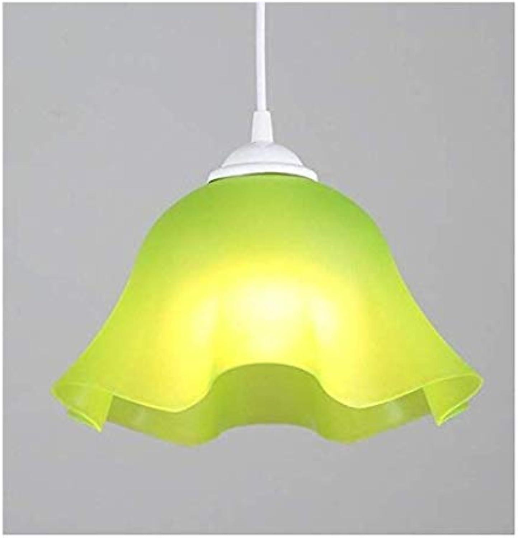 HBLJ Nachttischlampenbett Wohnzimmer Persnlichkeit Lampen und Kronleuchter Minimalist Frigobar Shops Farbe Shield 27Cm Grün