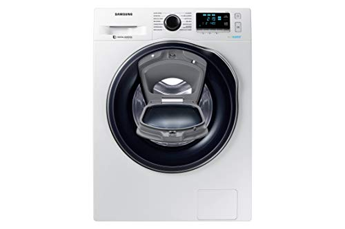 Samsung - Lavadora AddWash™ Serie 6 8kg  WW80K6414QW A+++, Carga Frontal, EcoBubble™,  Lavado Rápido,  Blanco, LED