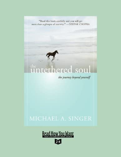 The Untethered Soul EasyRead Super Large 24pt Edition The Journey beyond Yourself product image