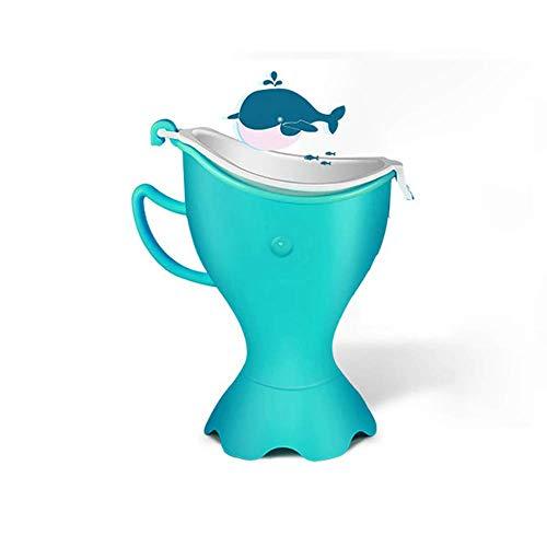 Unknow Orinatoio Portatile di Emergenza per Bambini, vasino da Toilette per Viaggi in Campeggio o Allenamento per pipì per Bambini e Bambine, Rosa