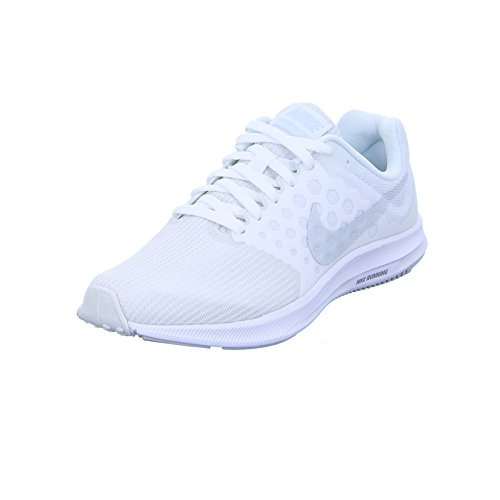 Nike Womens Downshifter 7 Running Shoe White/Pure Platinum Size 9 M US