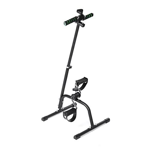 N / B Equipo de Fitness para Todo el Cuerpo Ajustable para Personas Mayores, ejercitador de Pedales, máquina de Entrenamiento de piernas con Brazos de Resistencia