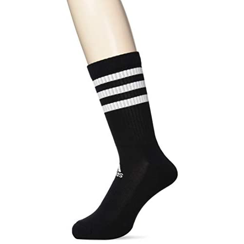 Adidas 3S CSH Crw3P, Calze Uomo, Black/Black/Black, XS