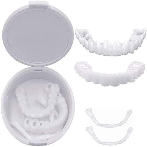 Fineertanden Perfect Snap Veneers Flex Past Quick Smile Fineer, Tijdelijk Bleken Cosmetische Tandenbedekking Instant…