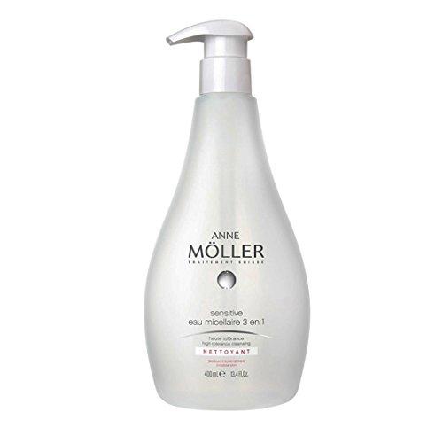 Anne Möller Sensitive Eau Micellaire 3 En 1 - Loción anti-imperfecciones, 400 ml