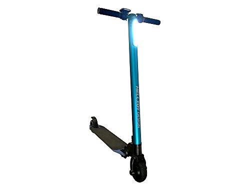 Helliot Bikes Alma-01x Elektro-Scooter für Erwachsene, Unisex, Blau