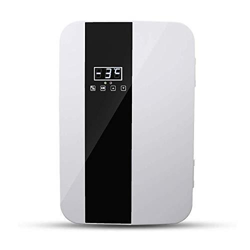 DALIBAI 22L Coche pequeño refrigerador de Doble núcleo rápido enfriamiento Mini pequeño hogar Refrigerados Refrigerados compartida de una Puerta