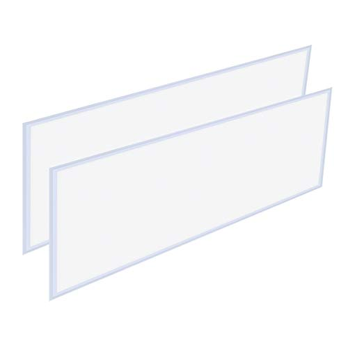 2x4 Flat Panel LED Light 60W, Allsmartlife Flat LED Troffer Panel Light Dimmable 0-10V, 6215Lumens, 100-277V DLC Qualified and Lighting Facts Fixture 4000K(Bright White), 2 Pack