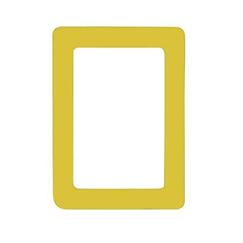 HET Mehrfarbig Magnetische Fototaschen, PVC Magnet Bilderrahmen Fotorahmen für Fotos Postkarten für Kühlschrank