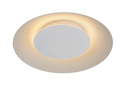 Lucide FOSKAL - Deckenleuchte - Ø 34,5 cm - LED - 1x12W 2700K - Weiß