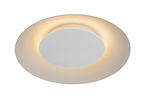 Lucide FOSKAL - Plafonnier - Ø 34,5 cm - LED - 1x12W 2700K - Blanc