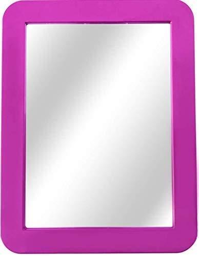 Boxgear Magnetic Locker Mirror - 5' x 7'- for School Locker, Bathroom, Household Refrigerator, Locker Accessory, Workshop Toolbox or Office Cabinet