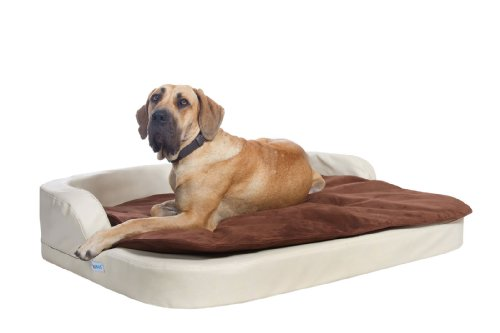 DoggyBed - Orthopedische Hondenmand - Medical Style Plus - 120 x 100 x 13 cm - Beige