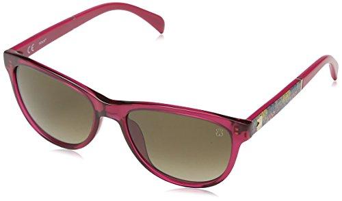 TOUS STO906-5403GB Gafas de Sol, Shiny Fuchsia, 54 para Mujer
