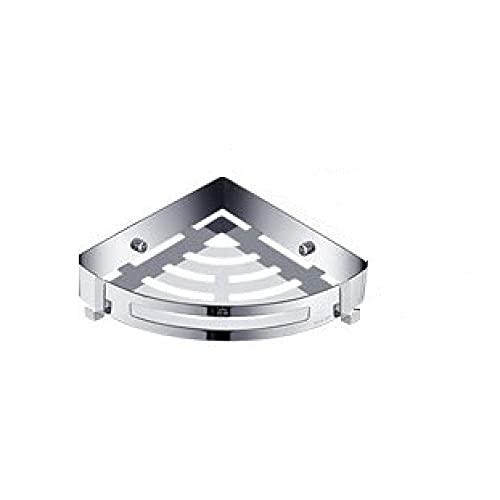 XFLQm Ribber de baño de acero inoxidable 304,estante de inodoro,triángulo/canasta de cuatro cuadrados,sin rincón de perforación Cajones/Triángulo/Uno