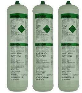 Argon Pure Einwegflasche Zylinder