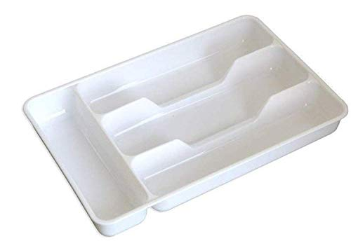 Pack of 2 Small Silverware Tray,Cutlery Tray, Keeps forks and spoons perfectly stacked by LiangTing