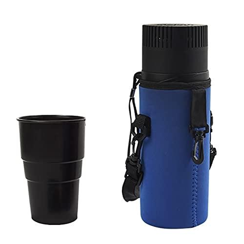 Taza refrigerada de insulina portátil | Enfriador de viaje para diabéticos Enfriador de insulina para medicamentos Estuche de viaje 2.1L / 2 ~ 8 ℃ Adecuado para varios tamaños de café, refrescos, ce