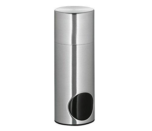 Cilio Süßstoffspender, Edelstahl, 3,5 x 3,5 x 10,5 cm