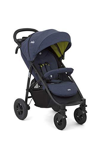 Set Joie Buggy Litetrax 4 Air Sportwagen, Buggy & Windel Kinderhaus Blaubär | Kinderbuggy kompakt klappbar | Leichter Kinderwagen mit Lufträder und Premium Zubehörpaket, Design:Gecko