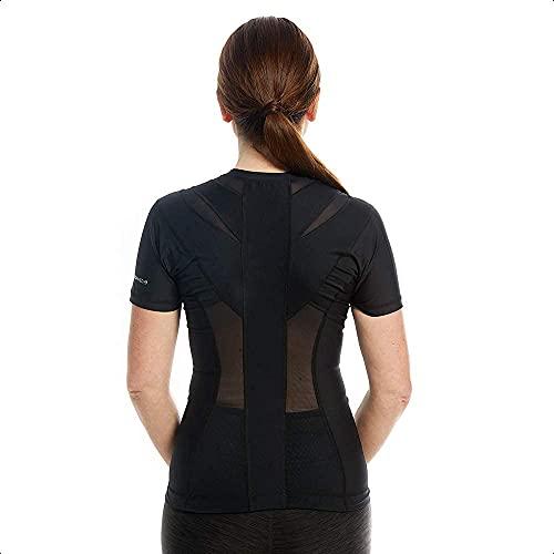 ActivePosture - Camiseta con Corrector de Postura para Espalda, Con Cremallera, Corrector de Hombros para Mujer, Cuenta con Tecnología Neuroband que Ayuda a Reducir Tensión, Dolor y Mejora la Postura