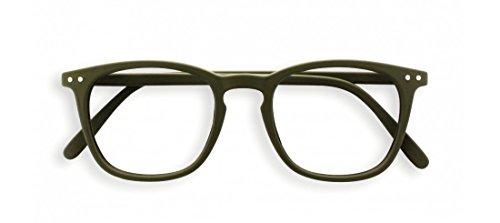 IZIPIZI PARIS | READING leesbril LetmeSee #E kaki groen +1,50 | kijkhulp