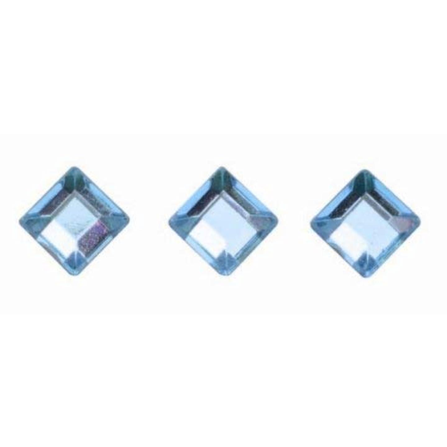 Glorex P & D Self-Adhesive Squares Light Blue, Plastic, Blue, 14.5?x 8.6?x 0.2?cm