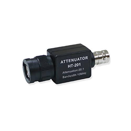 rongweiwang HT201 Multifunktionales Passive Abschwächer für Oscilloscope Signal Signalgenerator passiven Abschwächer Generator 20: 1 20 V Eingang