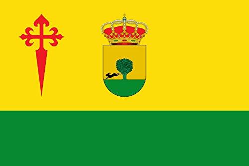 magFlags Bandera Large Tomelloso, Ciudad Real, España | Bandera Paisaje | 1.35m² | 90x150cm
