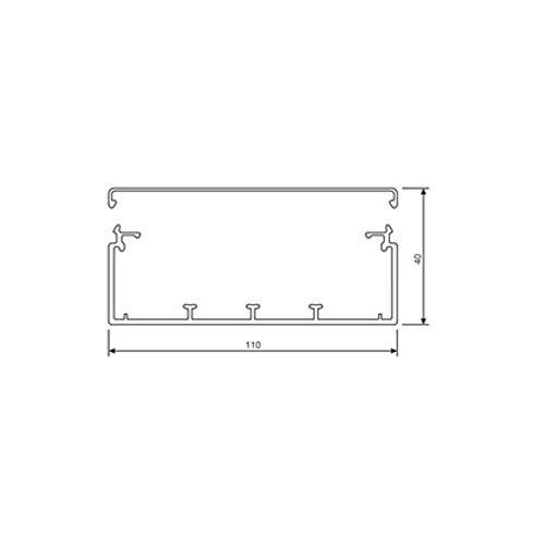 Tehalit Leitungsführungskanal LF 40110 gr