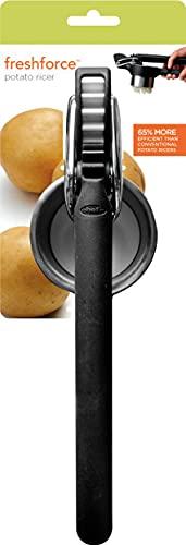 Chef'n Freshforce Kartoffelpresse, schwarz