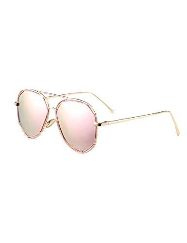 Kinder mit Sonnenbrille Personalisierte Baby-Sonnenbrille Mode-Wellen-Gläser Kind Anti-UV-Sonnenbrille ( Farbe : 2 )