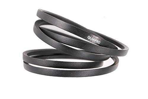 "QIJIAPRO Garden Tiller Forward Drive Belt 1/2"" x 25.38' for 754-04090, 1916657, GW-1916657 954-04090"