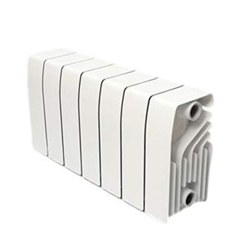 Baxi Radiador de aluminio de alta emisión térmica Batería, 10 elementos, serie Dubal 30, 14,7 x 80 x 28,8 centímetros (Referencia: 194A11001), blanco