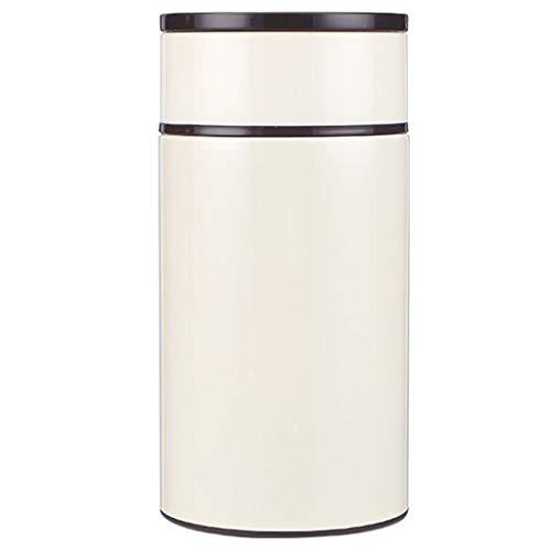 Thermos Soep Fles Met Lepel roestvrij staal Geïsoleerde Lunch Box Met Stofzuiger Eten Kolven for School Travel Camping (Color : White)