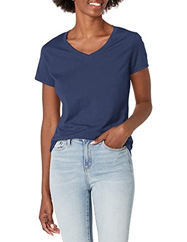 Hanes X-Temp. - Camiseta de cuello en V para mujer.