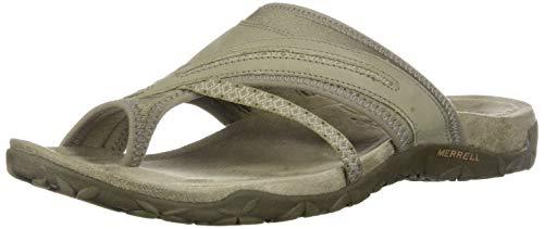Merrell Women's Terran Post II Athletic Sandal, Taupe, 10 M US