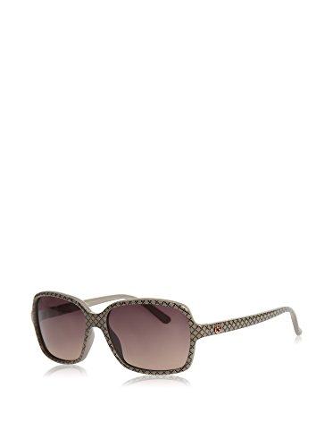 Gucci 3631/S - Gafas de Sol para Mujer, Color Motivo a diamanti Beige, lenti Grigio-Verde sfumat, Talla 56 mm