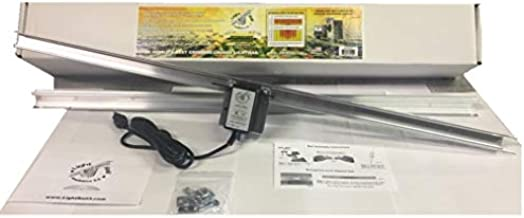 Light Rail 3.5 IntelliDrive Kit Motor w Rail, Robotic Grow Light Mover Genuine Solidly Made in The USA