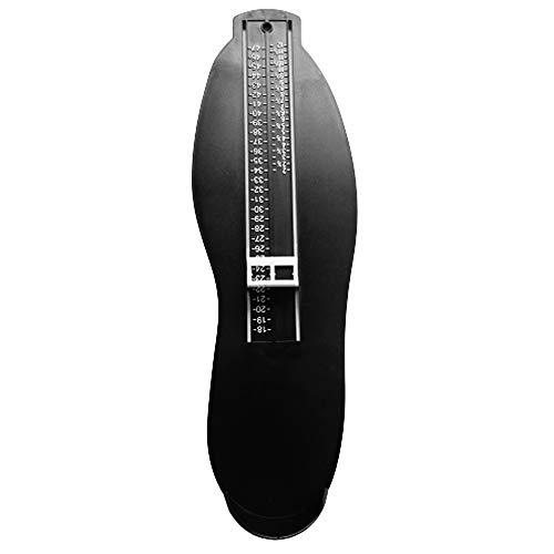 Chilits Dispositivo de medición de pie profesional para el Reino Unido/UE, herramienta de medición de pies, calibre 18 – 47, medidor de zapatos para bebés, niños y adultos, regla de medición precisa