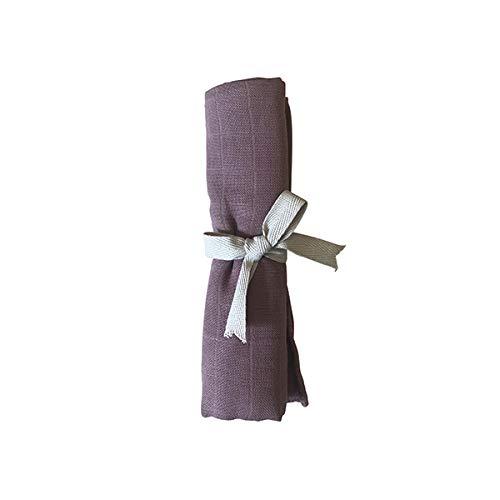 Filibabba katoenen zakdoek 65 x 65 cm in oud roze