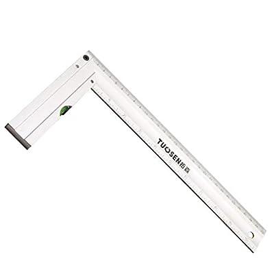 MrCartool Measuring Layout Tool Industrial grade Alluminum Level layout Tool Framing Square 300mm Length