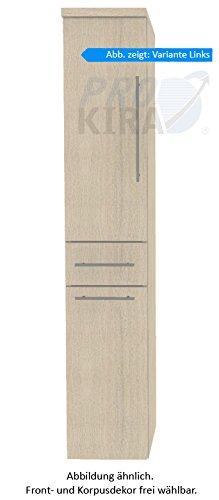 PURIS Swing Armadio Alto (hna053a7wl/R) Mobile da Bagno, 30cm