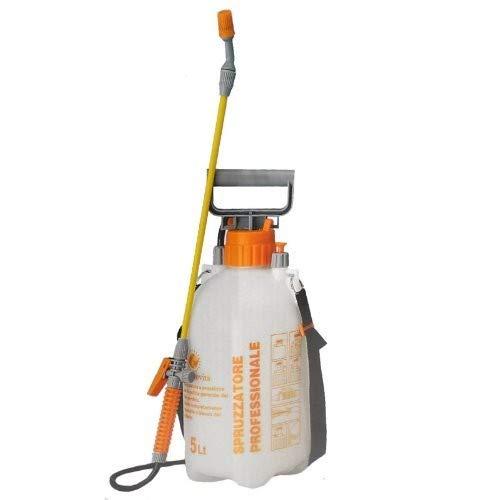 Pompa a spalla manuale irroratrice, nebulizzatore, spruzzino per giardino, orto e piante 5 LT, colori assortiti