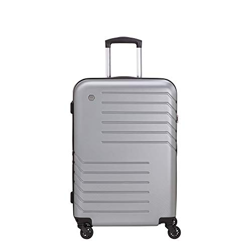 CARPISA Maleta mediana rígida - Tendency Luggage, plateado (Plateado) - VA84950MC0004001