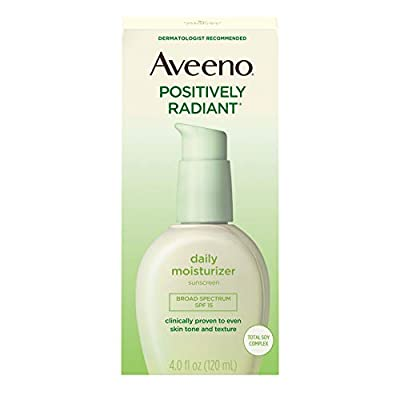 Aveeno Positively Radiant Daily