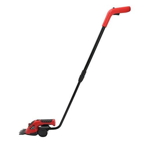 REWD Cortasetos Electrico 2 en 1 Hedge Condensador de Ajuste eléctrico Intercambiable Blade, eléctrico Cortacésped, 3.6V Inalámbrico Grass y Hedge Trimmer Hedge Trimmers Home and Garden