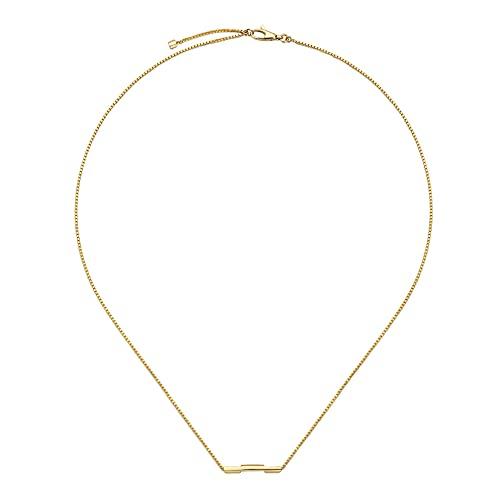 GUCCI goldene halsband LINK TO LOVE YBB66210800100U